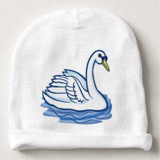 Chapéu da criança - cisne azul gorro para bebê