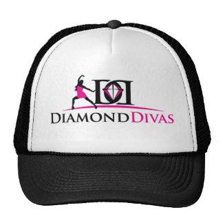Chapéu da diva do diamante boné