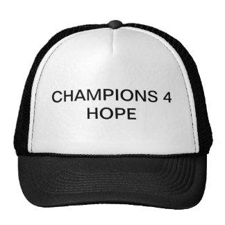 Chapéu da esperança dos campeões 4 boné