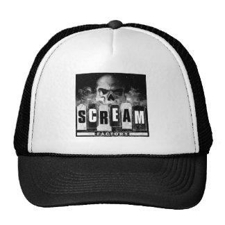 Chapéu da fábrica do gritar boné