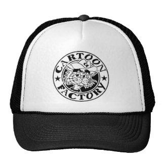 Chapéu da fábrica dos desenhos animados boné