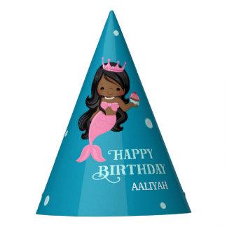 Chapéu da festa de aniversário da sereia do
