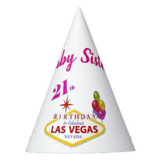 Chapéu da festa de aniversário de Las Vegas da