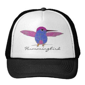 Chapéu da malha do colibri bone