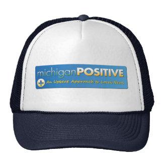 Chapéu da malha do logotipo de MichiganPositive Boné