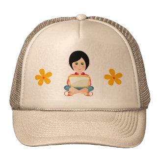 Chapéu da menina bonés