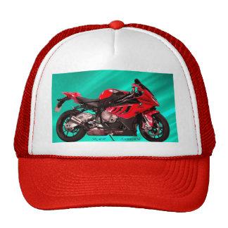 Chapéu da motocicleta boné
