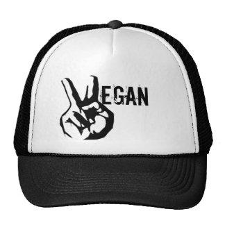 Chapéu da paz do veganismo boné