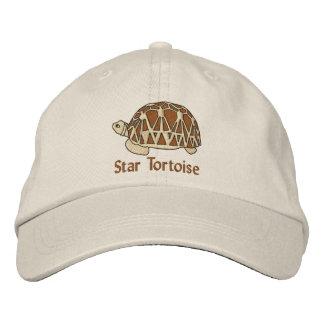 Chapéu da tartaruga da estrela (bordado) boné bordado