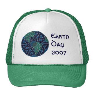 Chapéu da terra do planeta boné