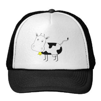 Chapéu da vaca dos desenhos animados boné