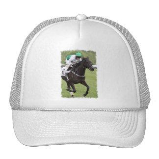 Chapéu de basebol de galope do cavalo de raça bonés