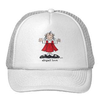 Chapéu de basebol do amor de Abigail Bone