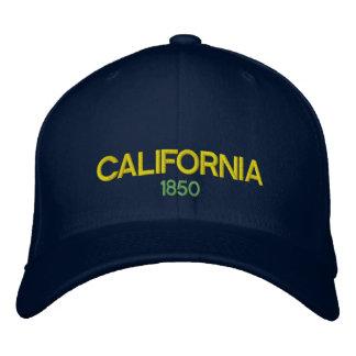 Chapéu de basebol do costume de Califórnia 1850 Boné Bordado