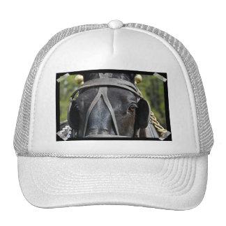 Chapéu de basebol preto do cavalo de esboço bonés