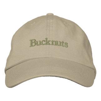 Chapéu de Bucknuts Boné Bordado