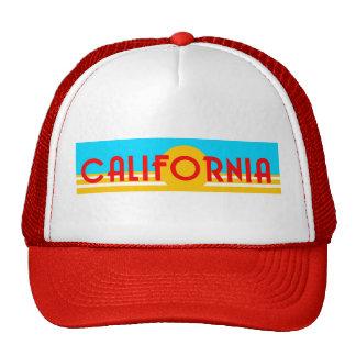 Chapéu de Califórnia dos anos 80 do vintage Bonés