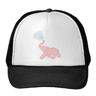 Chapéu de chá da estrela do elefante do bebê boné