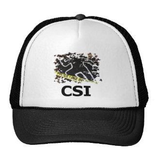 Chapéu de CSI Bones
