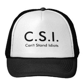 Chapéu de CSI Bone