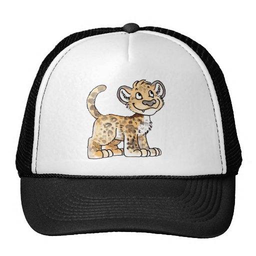 Chapéu de Cub do leopardo Bonés