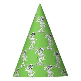 Chapéu de esqueleto do partido do Dia das Bruxas