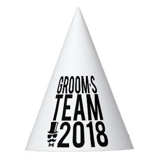 Chapéu De Festa A equipe 2018 do noivo