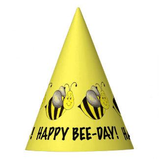 Chapéu De Festa Abelhas felizes do aniversário do zangão do