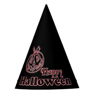 Chapéu De Festa Abóbora preta feliz do Dia das Bruxas