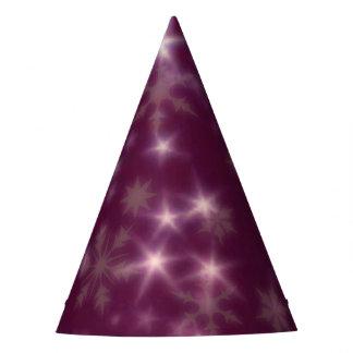 Chapéu De Festa Ameixa obscura das estrelas