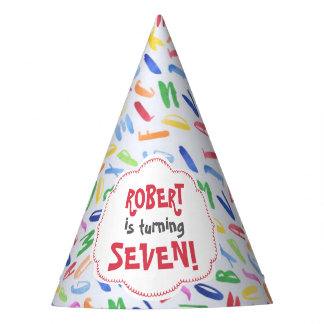 Chapéu De Festa Aniversário de criança do costume do alfabeto da