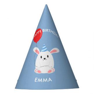 Chapéu De Festa Aniversário de criança doce do coelho de coelho
