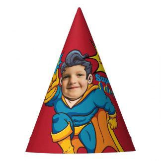 Chapéu De Festa Aniversário do modelo da foto do super-herói do