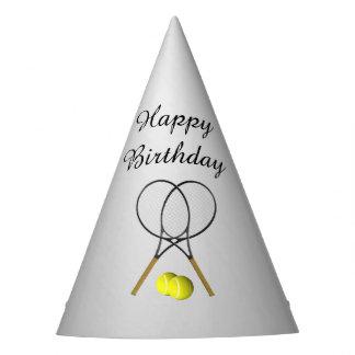 Chapéu De Festa Aniversário do tema do esporte do tênis