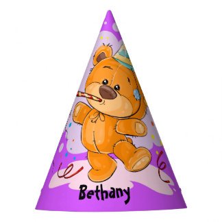 Chapéu De Festa Aniversário do urso de ursinho