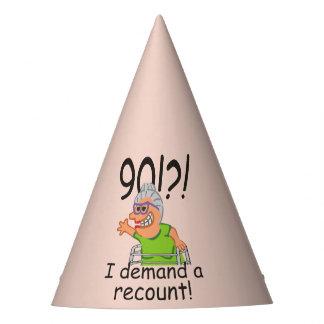 Chapéu De Festa Aniversário engraçado do 90 da descrição