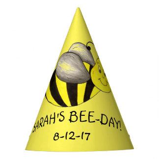 Chapéu De Festa Aniversário personalizado do zangão do amarelo do