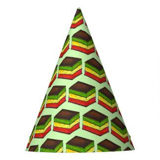 Chapéu De Festa Arco-íris italiano biscoito do Xmas do Natal de