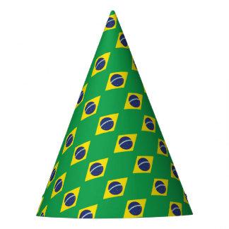 Chapéu De Festa Bandeira brasileira