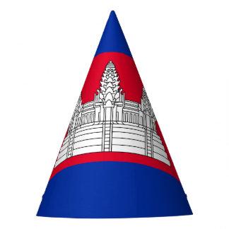 Chapéu De Festa Bandeira de Cambodia