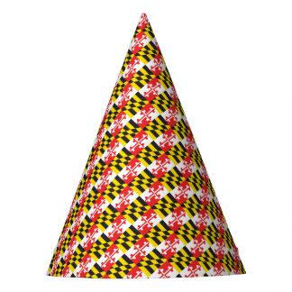 Chapéu De Festa Bandeira de Maryland
