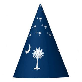 Chapéu De Festa Bandeira de South Carolina