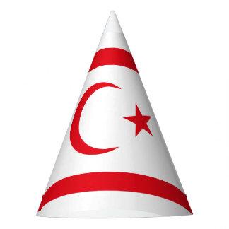 Chapéu De Festa Bandeira do norte de Chipre