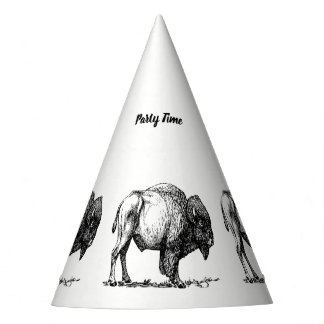 Chapéu De Festa Bisonte americano do búfalo