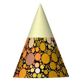 Chapéu De Festa Bolhas de Zazzy, alaranjadas
