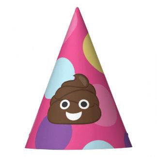 Chapéu De Festa Bolinhas Poo Emoji