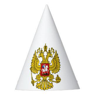 Chapéu de festa brasão Rússia