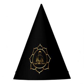 Chapéu De Festa Buddha que faz o design espiritual da meditação da