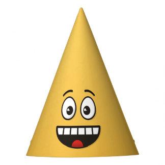 Chapéu De Festa Cara de sorriso com boca aberta