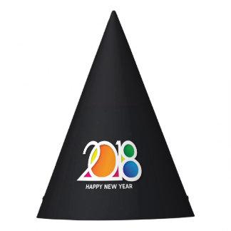 Chapéu De Festa Celebração do partido de ano novo da arte moderna